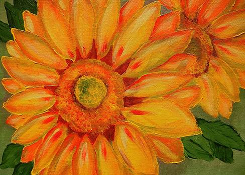 Sunflowers by Suzanne Buckland