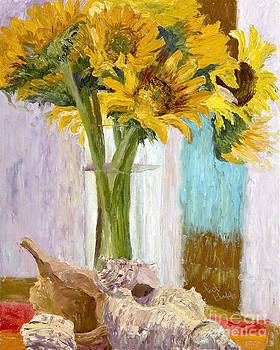 Sunflowers Two by Patricia Huff