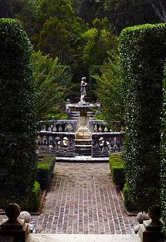 Sunken Garden by Greg Reed