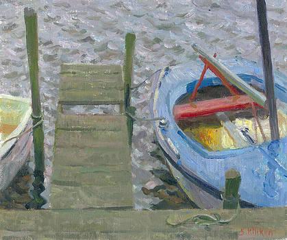 Sunken sailing boat by Ben Rikken