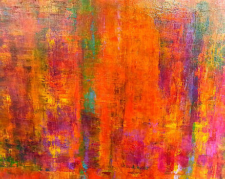 Sunkist by Tanya Lozano Abstract Expressionism