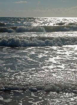 Sunlight on Ocean Waves by Virginia Zuelsdorf