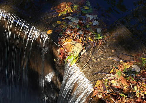 Sunlight on the Spillway by Lyle Hatch