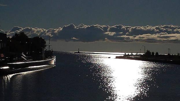 Sunlight on The Submarine by Erin Britton