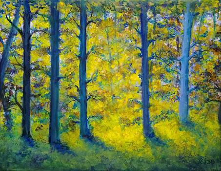 Sunlight through the Blue by Catherine Jeffrey