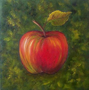 Sunlit Apple SOLD by Susan Dehlinger