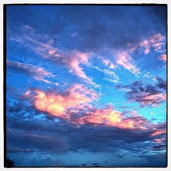 Sunlit Clouds by Paul Cutright