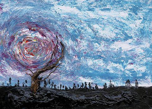 Sunloving tree by Erik Tanghe