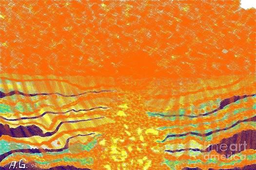 Sunny abstract by Andrzej Goszcz by  Andrzej Goszcz