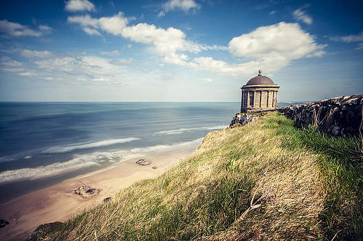 Sunny afternoon over the Mussenden Temple by M I