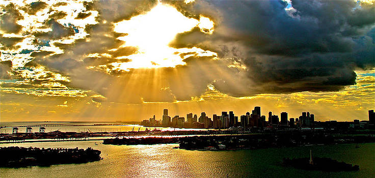 Sunny and cloudy afternoon  by Ronald  Bell