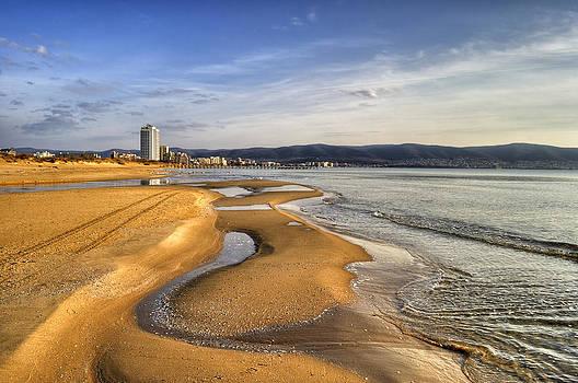 Sunny Beach by Dimitar Rusev