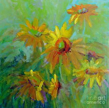 Sunny Daisies by Virginia Dauth