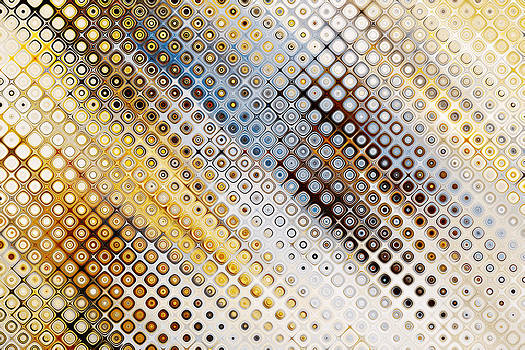 Peggy Collins - Sunny Day Abstract