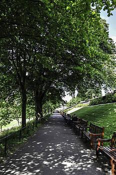 Sunny day in Edinburgh by Christine May
