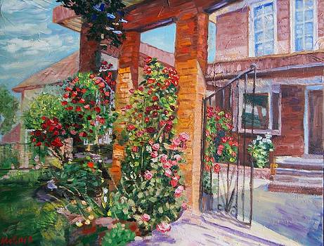Sunny day in the patio by Efim Melnik