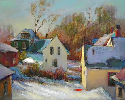 Sunny Day In Winter by Svitozar Nenyuk