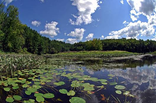 Sunny Day on the Merrimack by Rick Frost