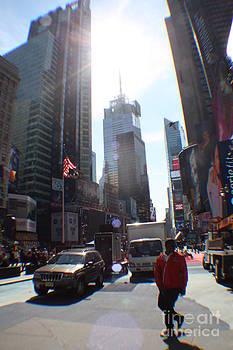 Sunny Days Manhattan by Rogerio Mariani
