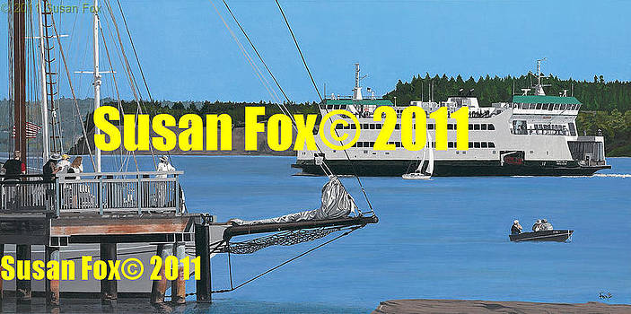 Sunny Port Townsend Afternoon by Susan Fox