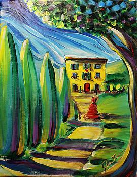 Sunny Villa by Jennifer Treece