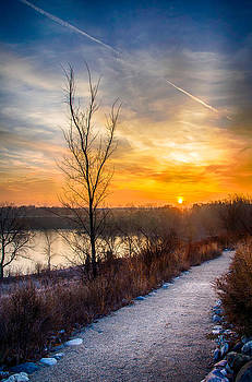 Sunrise 12-2-13 02 by Michael  Bennett