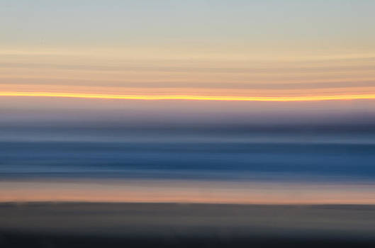 Sunrise Abstract by Steve Myrick
