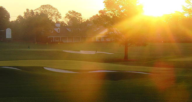 Sunrise at Augusta National by Bo  Watson