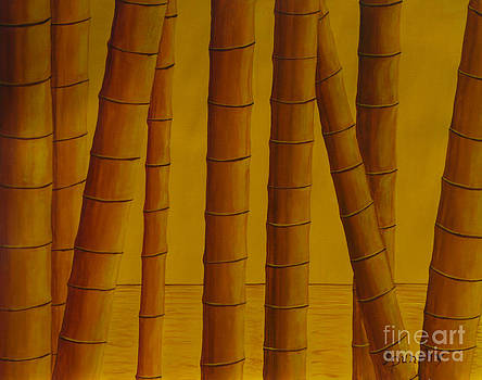 Sunrise at Bamboo Grove by Anthony Dunphy