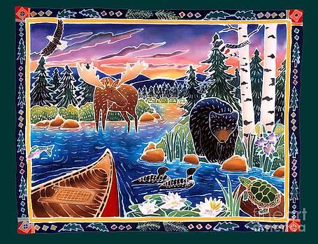 Harriet Peck Taylor - Sunrise at Bear Lake