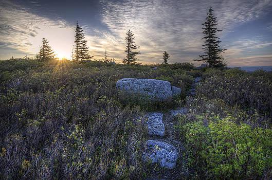 Sunrise at Bear Rocks by Michael Donahue