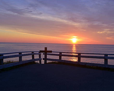 Lisa Phillips - Sunrise at Cape Spear St Johns Newfoundland