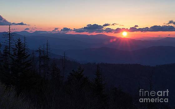 Sunrise at Clingmans Dome by Joshua Clark