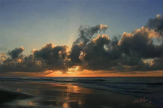 Sunrise at Garden City by Forest Stiltner