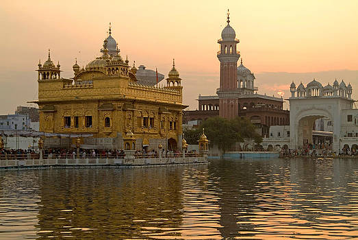 Devinder Sangha - Sunrise at Golden Temple