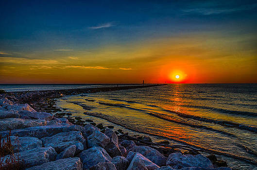 sunrise at Home by Todd Heckert
