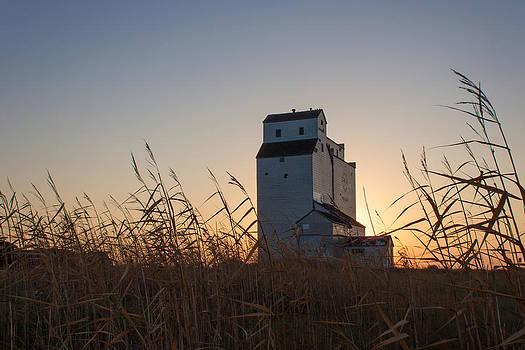 Steve Boyko - Grain Elevator at Sunrise