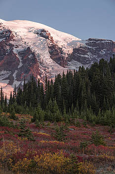Sunrise at Mt Rainier by Ross Murphy