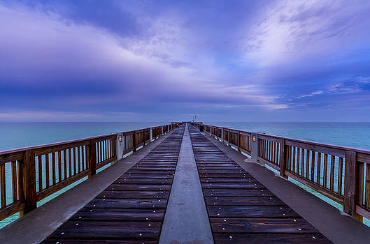 David Morefield - Sunrise at the Panama City Beach Pier