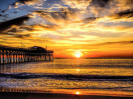 Terry Shoemaker - Sunrise at the Pier