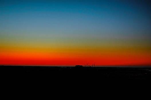Louis Dallara - Sunrise at Turkey Point Dividing Creek New Jersey