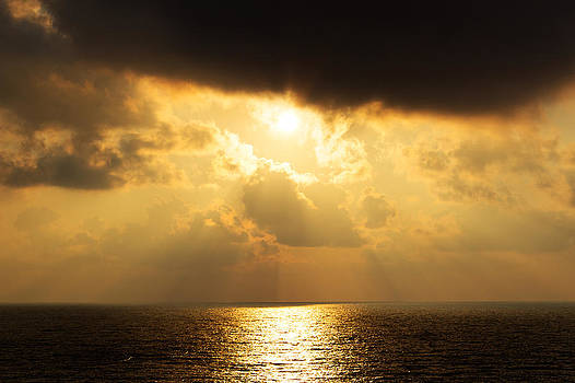 Sunrise Black sea by Martin Hristov