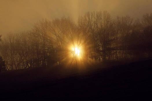 Sunrise Breaking Through by Corey Haynes