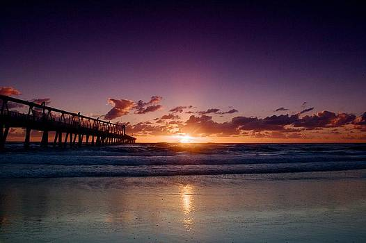 Sunrise by the Pier by Shane Dickeson