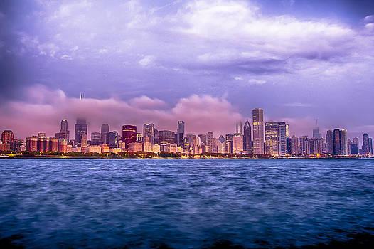 Sunrise Chicago 11-2-13 by Michael  Bennett