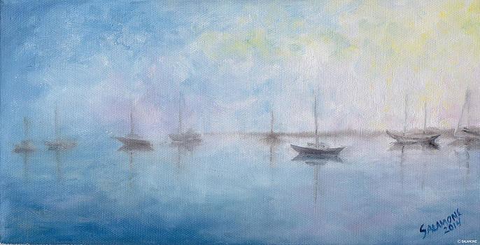 Sunrise Fog by Brenda Salamone