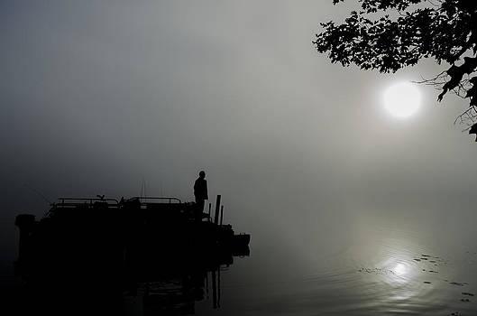 Sunrise Fog by Paul Geilfuss