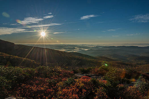 Sunrise for Rough Ridge by Mike Watts
