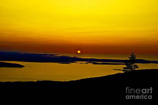 Sunrise by Fred L Gardner