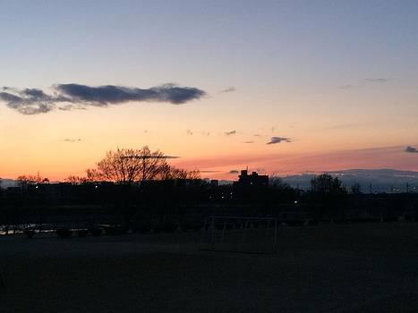 Sunrise from Mukogawa by Yoshikazu Yamaguchi